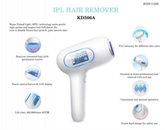 Hair Removal Equipment for Men / Women KD506A