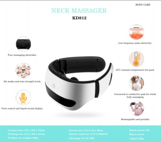 Neck Massager Body Care KD812