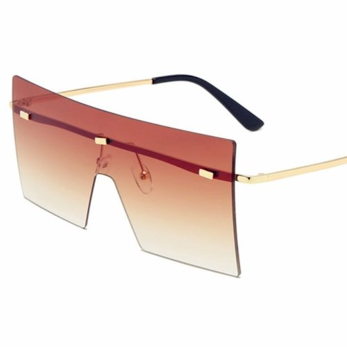 European and American Sunglasses  Big Frame Square