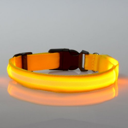 LED Dog Necklace Luminous Collar Rechargeable