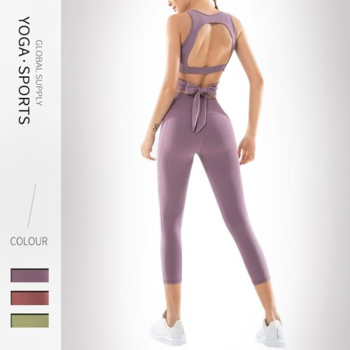 Spring and Summer Yoga Pants Skinny Female European And American High Waist Sports Pants