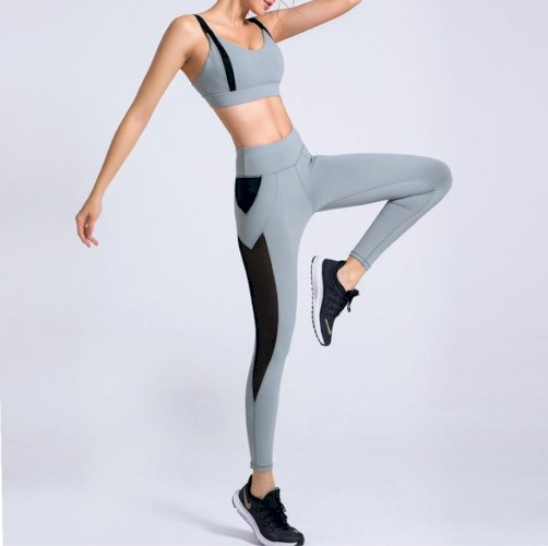 Lulu Women Yoga Suit High Waist