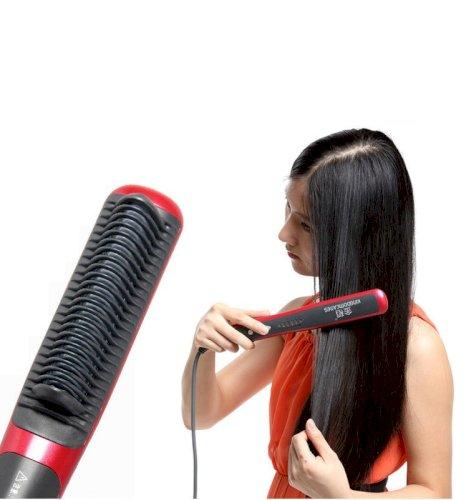 Golden Rice KD388 Hair Straightening Brush