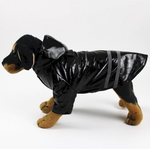 Reflective Stripe Dog Raincoat 100% Waterproof