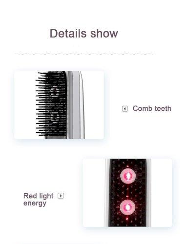 Golden Rice KD3801 Red Light Scalp Massage Comb