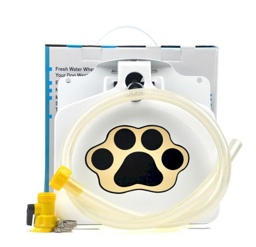 Pet Drinking Fountain Automatic Feeder Pressure Pedal