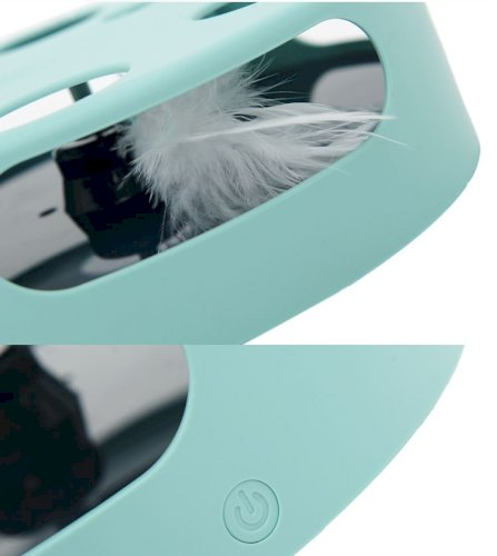 Electric Cat Toys Feather Fighting Cat