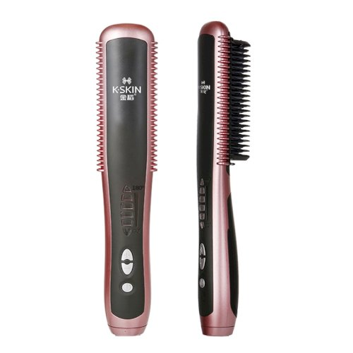 Hair Straightener Comb KD388A 2 in 1 Electric Curling Straightening Irons